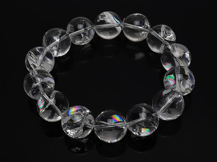レインボー水晶
