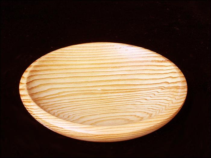 屋久杉 丸皿 直径8.5cm